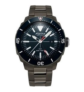 Alpina Seastrong Diver 300 GMT AL-247LNN4TV6B