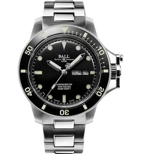 Ball Engineer Hydrocarbon Original (43mm) COSC DM2218B-SCJ-BK