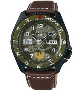 Seiko 5 Sports SRPF21K1 GUILE Street Fighter Limited Edition