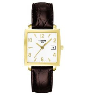 Tissot Sculpture Line 18K Gold T71.3.324.34
