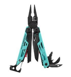 MultiTool Leatherman Signal Aqua