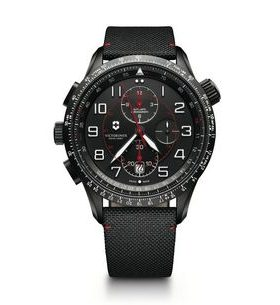 Victorinox AirBoss Mechanical Chronograph Mach 9 Black Edition 241716