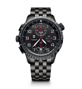 Victorinox AirBoss Mechanical Chronograph Mach 9 Black Edition 241742