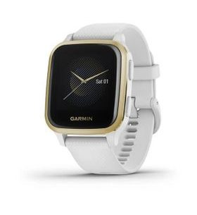 Garmin Venu Sq ,LightGold/White Band 010-02427-11