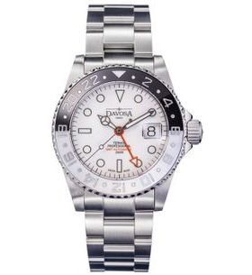 Davosa Ternos Professional GMT Automatic Black+White 161.571.15
