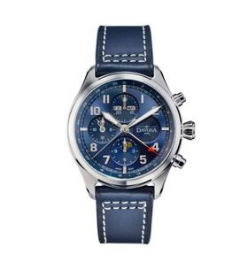 Davosa Newton Pilot Moonphase Chronograph Automatic 161.586.45