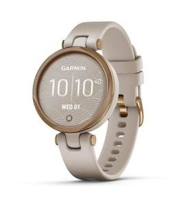Garmin Lily Sport Rose Gold/Light Sand Silicone Band 010-02384-11