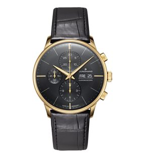 Junghans Meister Chronoscope Gold 027/9000.03