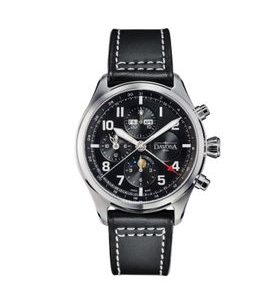 Davosa Newton Pilot Moonphase Chronograph Automatic 161.586.55