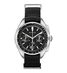 Bulova 96A225 Lunar Pilot Chronograph Watch