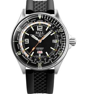 Ball Engineer Master II Diver Worldtime Limited Edition COSC DG2232A-PC-BK