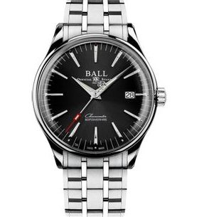 Ball Trainmaster Manufacture 80 Hours COSC NM3280D-S1CJ-BK