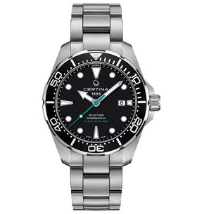 Certina DS Action Diver Powermatic 80 Sea Turtle Conservancy C032.407.11.051.10 - Special Edition