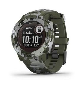 Garmin Instinct Solar Camo Black Optic 010-02293-06