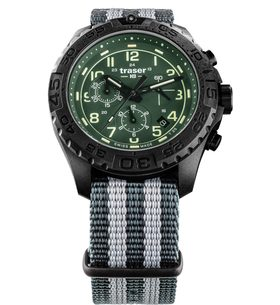 Traser P96 Outdoor Pioneer Evolution Chrono Green nato