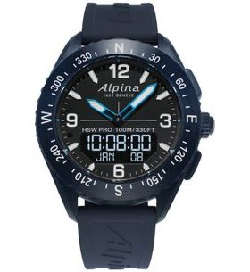 Alpina AlpinerX Horological Smartwatch AL-283LBN5NAQ6