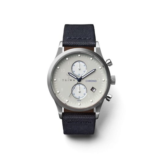 TRIWA SHADE LANSEN CHRONO NAVY CANVAS CLASSIC TW-LCST111-CL060912
