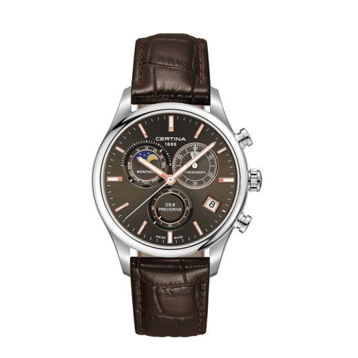 CERTINA DS-8 CHRONOGRAPH MOON PHASE C033.450.16.081.00