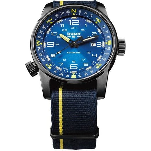 TRASER P68 PATHFINDER AUTOMATIC BLUE NATO