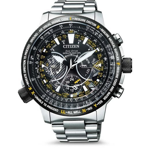 CITIZEN SATELLITE WAVE GPS ECO-DRIVE CC7014-82E
