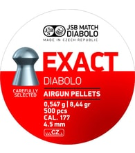 Diabolky JSB Exact 4,50mm 500ks