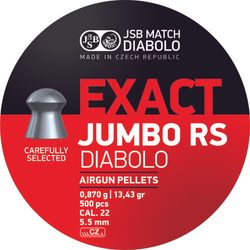 Diabolky JSB Exact Jumbo RS 5,52mm 500ks
