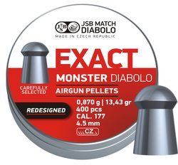 Diabolky JSB Exact Monster Redesigned 4,52mm 400ks