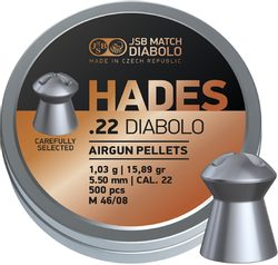 Diabolky JSB Hades 5,50mm 500ks