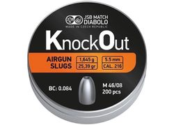 Diabolky KnockOut Slugs 5,5mm 200ks