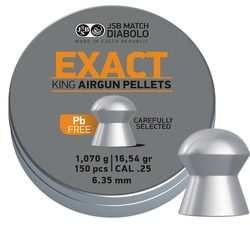 Diabolky JSB Exact King Lead Free 6,35mm 150ks