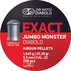 Diabolky JSB Exact Jumbo Monster 5,52mm 200ks