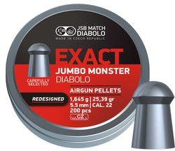 Diabolky JSB Exact Jumbo Monster Redesigned 5,52mm 200ks