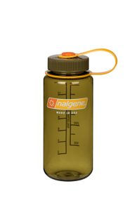 Fľaša NALGENE Wide Mouth 16oz (500 ml) - oliva