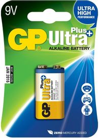 GP Ultra Plus Alkaline 9V blister / 1 ks