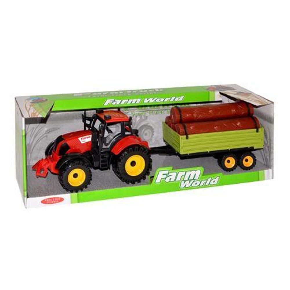 Traktor s postrekom kovový 17 cm, Wiky Vehicles, W005279
