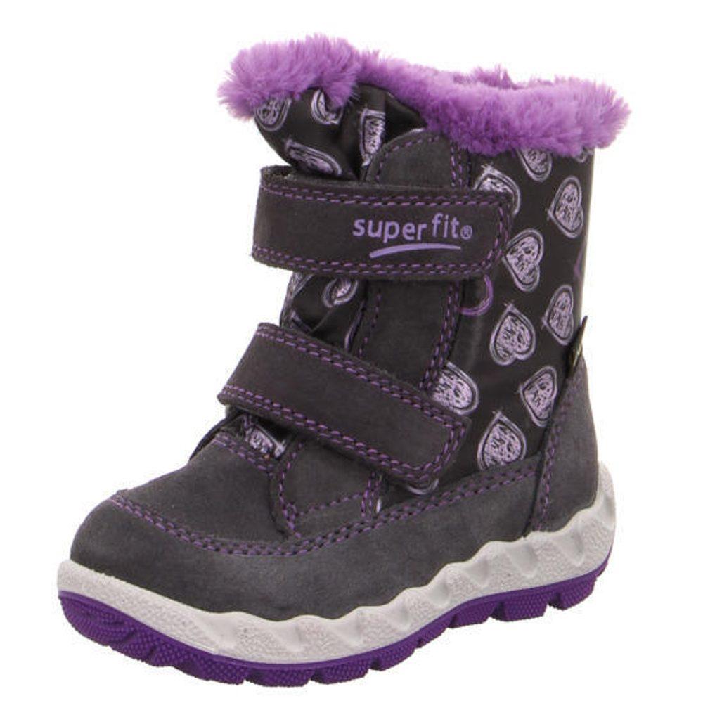 detské zimné topánky ICEBIRD, Superfit, 3-00015-20, vínová