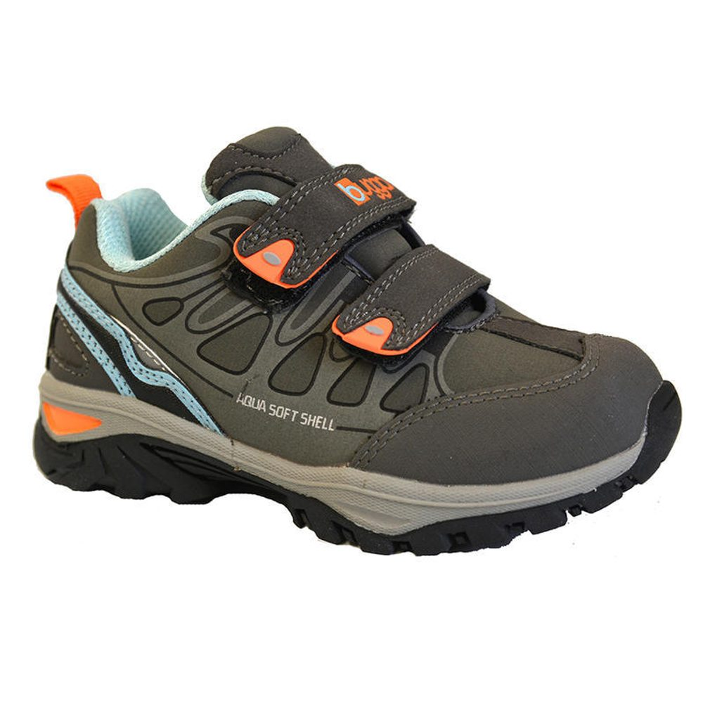 topánky detské softshell, Bugga, B00132-09, šedá