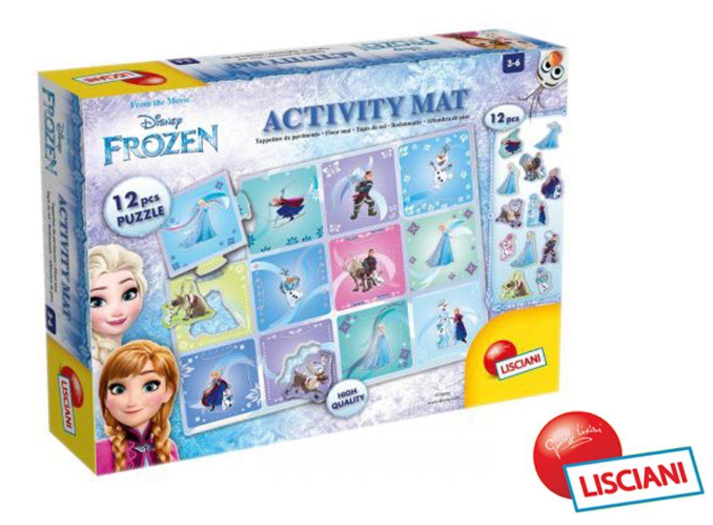 Lisciani Frozen oboustranná skládací podložka, Lisciani, W010927