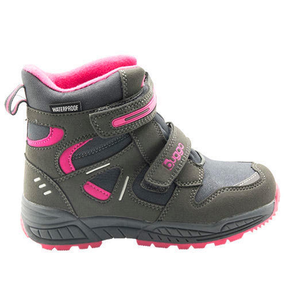 Bugga dětské zimní boty, Bugga, B00151-09, šedá
