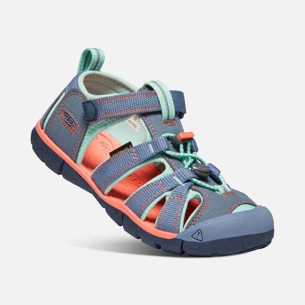 Dětské sandály SEACAMP II CNX, COCTKATOO/ROYAL PURPLE, 1022987,1022972, tyrkys (2) - 24