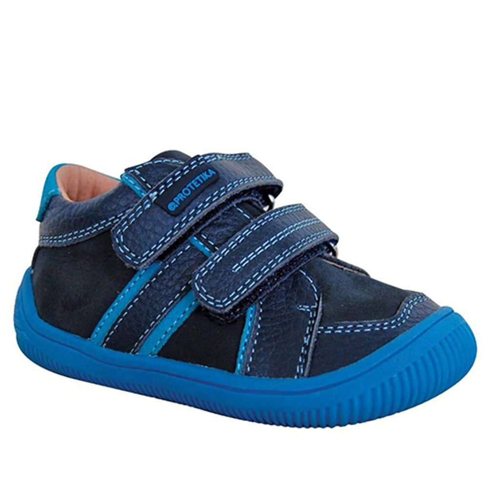 obuv chlapčenská barefoot DON, protetika, modrá - 31
