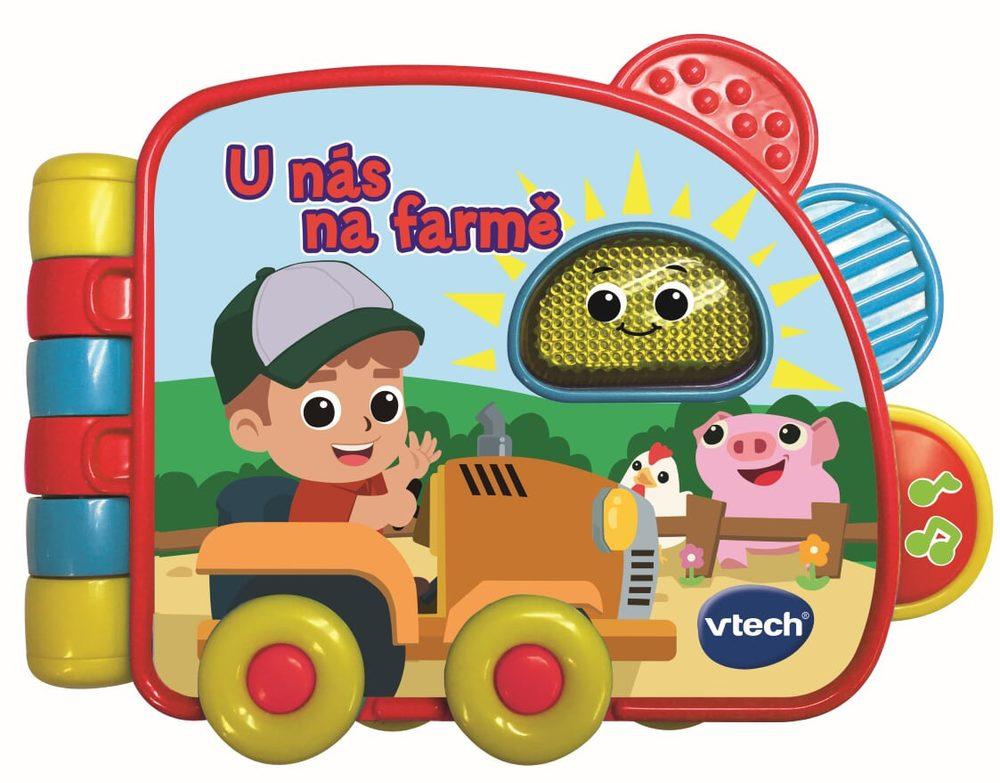 Vtech knižka U nás na farme, Vtech, W000043
