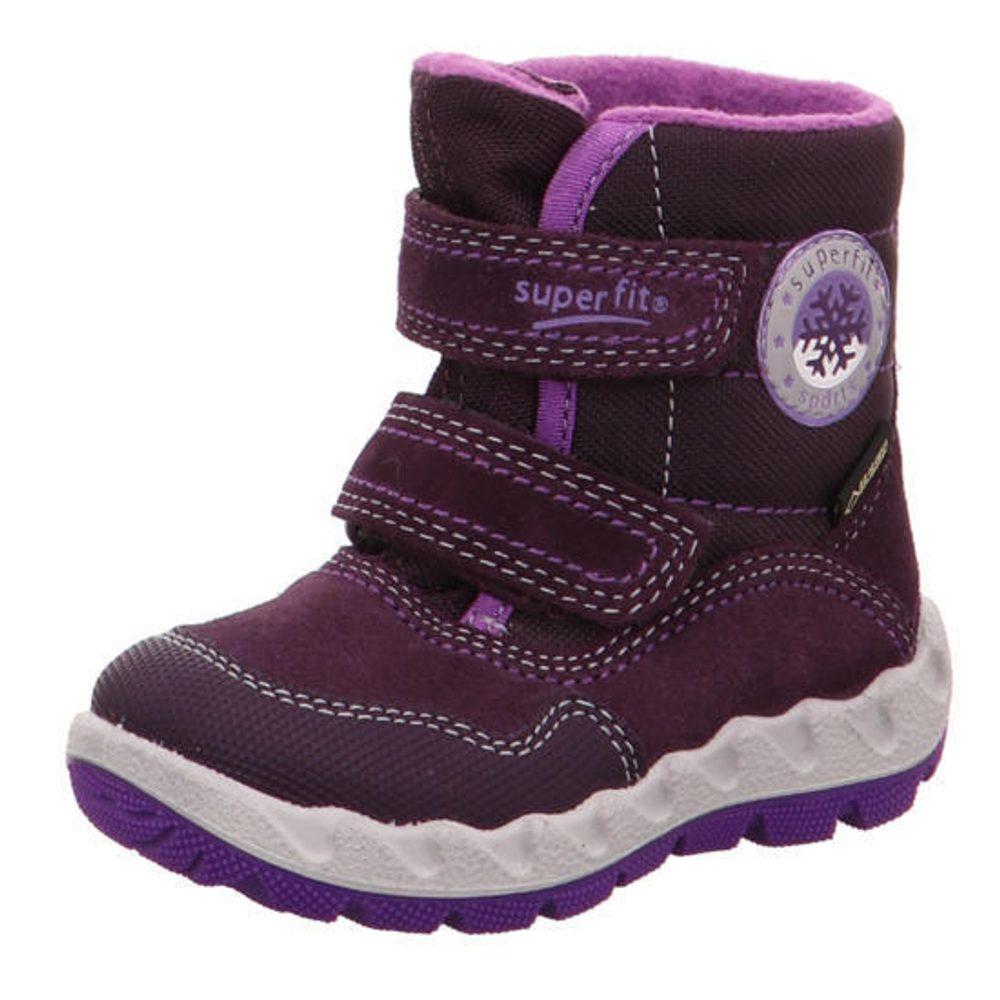 detské zimné topánky ICEBIRD, Superfit, 3-00013-90, fialová