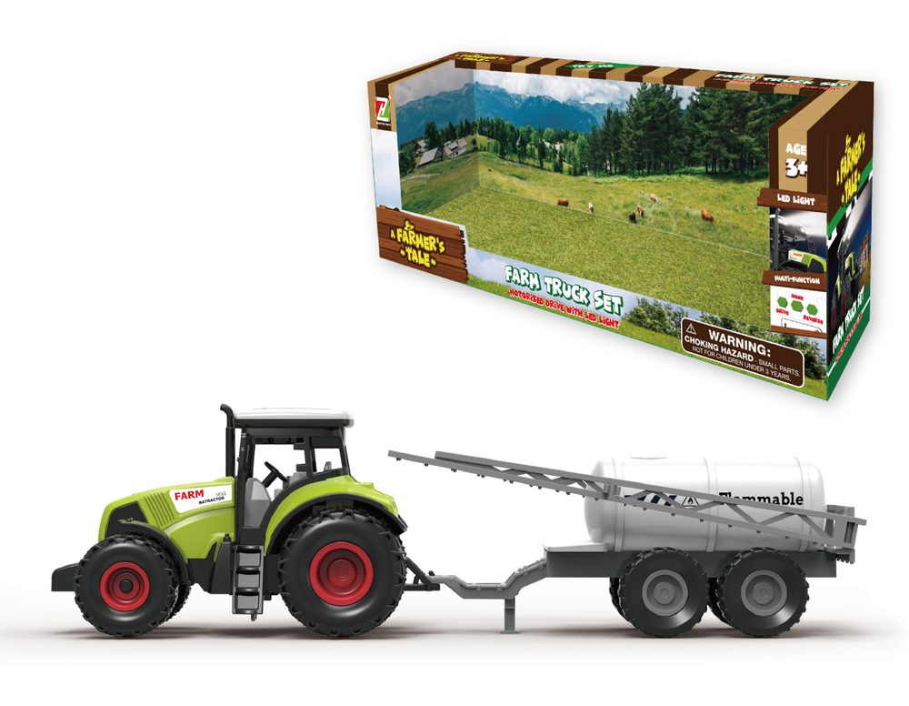 Traktor s postrekom 31 cm, Wiky Vehicles, W005258
