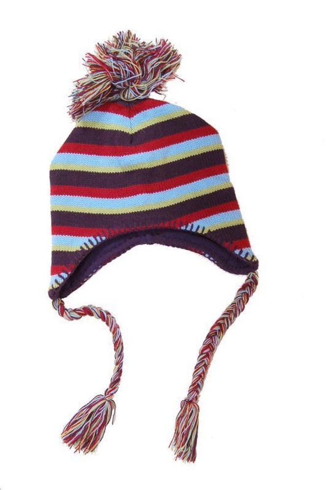 čepice pletená, Bugga, PD371, modrá - 1/2let
