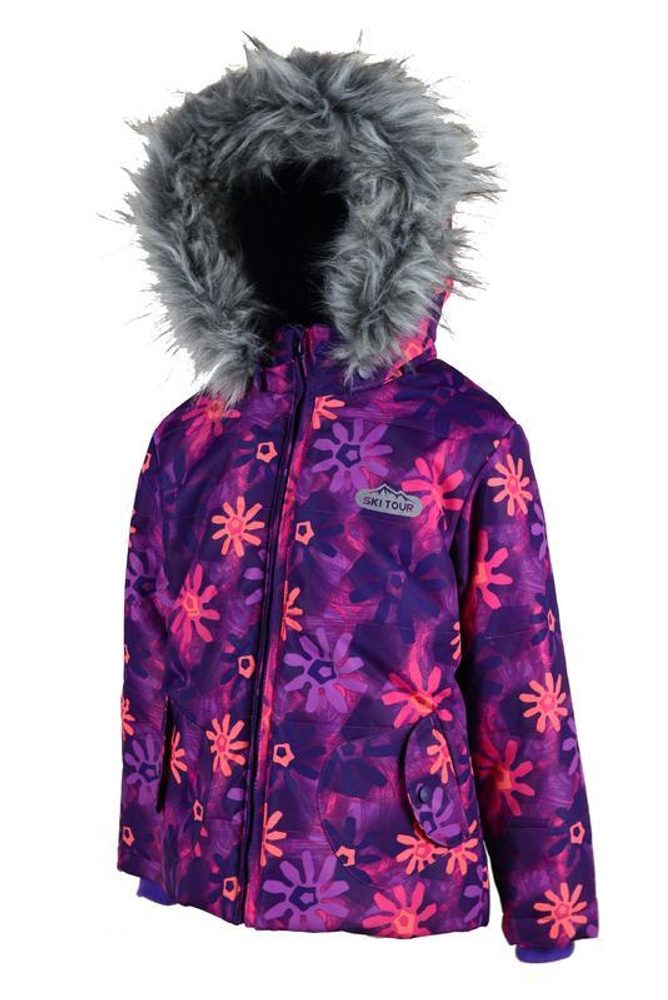 zimná bunda s lyžiarskym pásom, Pidilidi, PD1034-01, holka - 158