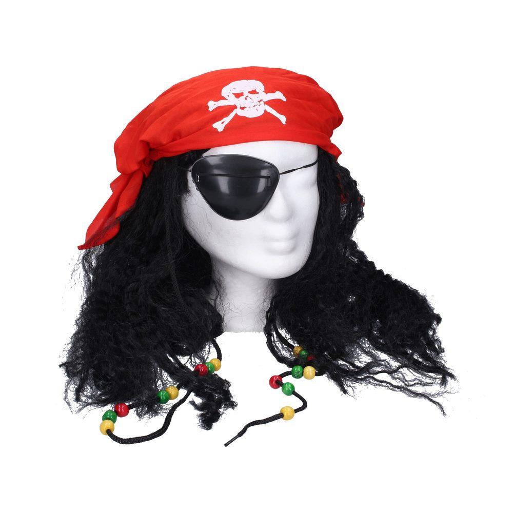 Paruka pirát s doplňky, Wiky, W003137