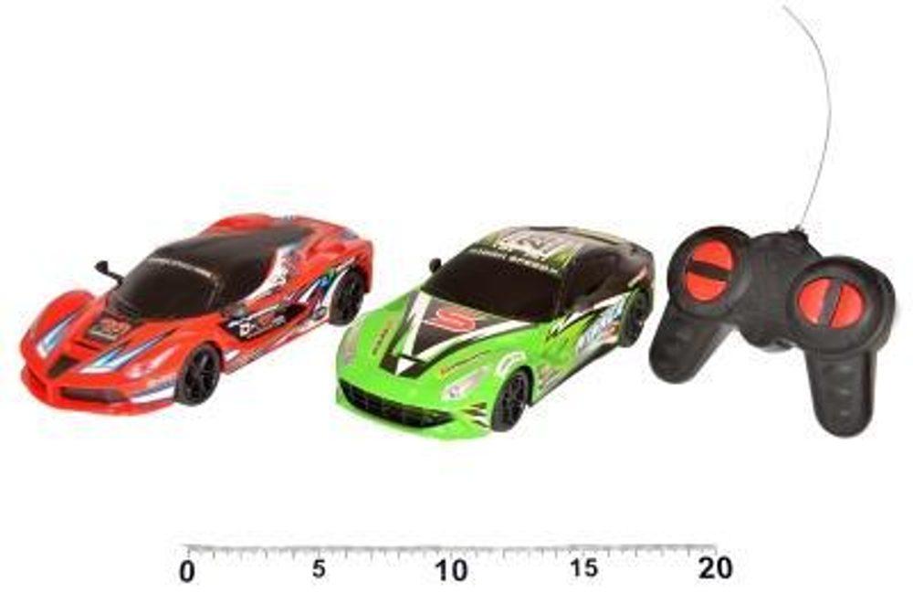 WIKY Auto závodní 18 cm, RC, 3 asst., WIKY, 110873