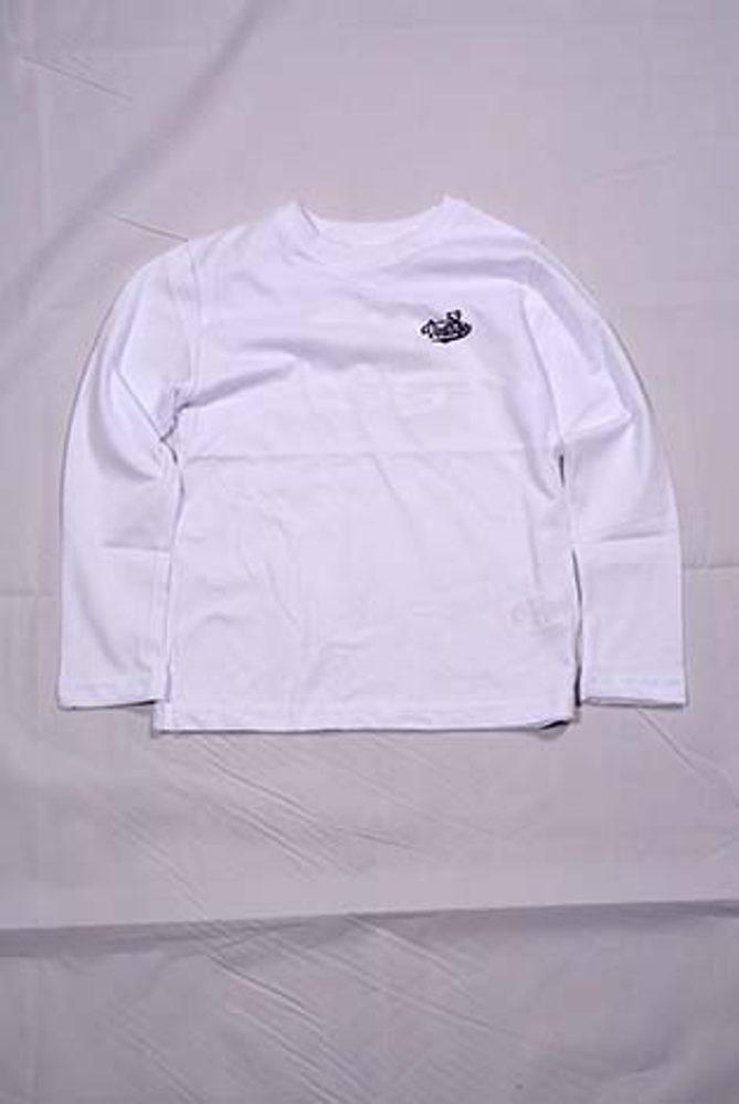tričko dlhý rukáv, Wendee, OZ101588-2, bílá - 128