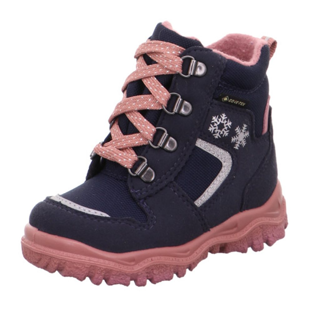 Dievčenské šnurovacie topánky HUSKY1 GTX, Superfit, 1-000046-8010, tmavě modrá - 20
